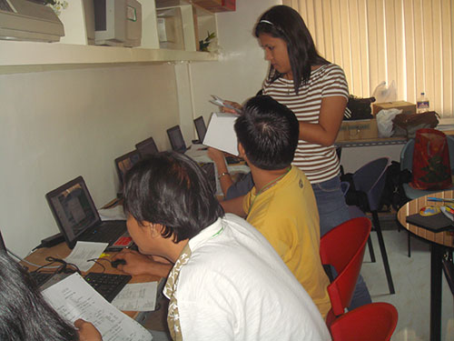 binan training09162009 3 Building Competencies, Better Performance: Biñan RGS Users Training