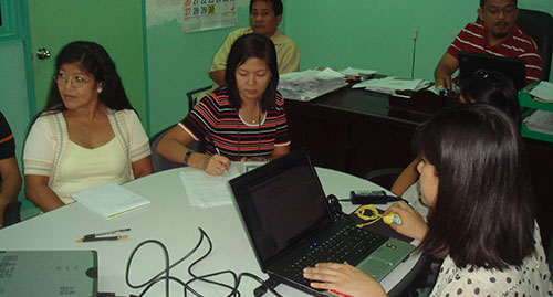 training 11212009 6 Managing Change: Amellar Conducts Back to back Basic Training for RPTA System Administrators
