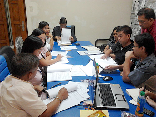 calamba fgd 072011 04 Amellar Aids Transition of Calamba to MRES