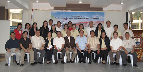 calamba mres launch 13 Calamba Embarks on a Computerized Project with Amellar