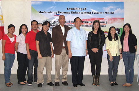 calamba mres launch 15 Calamba Embarks on a Computerized Project with Amellar