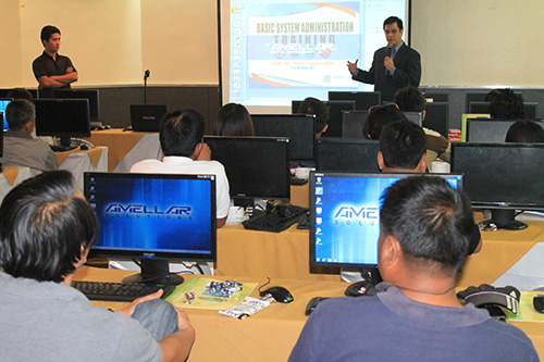 sys ad training 10 2012 1 Amellar Holds Big Event, Conducts Basic System Administration Training