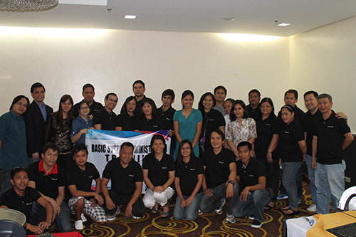 sys ad training 10 2012 4 Amellar Holds Big Event, Conducts Basic System Administration Training